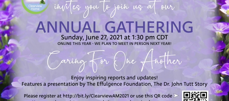 Come to Our Annual Gathering